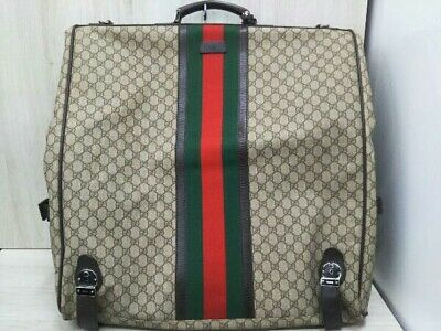 FREE SHIPPING Gucci Garment Bag Monogram Vintage