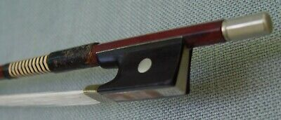 Good Vintage Octagonal German Violin Bow, 65g