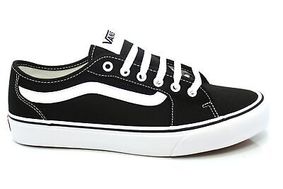 Vans FILMORE Decon, Baskets Homme, Noir (Canvas) BlackWhite, 44 EU
