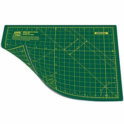 ANSIO Craft Cutting Mat Self Healing A4 Double Sided 5 Layers - Quilting, Sewing