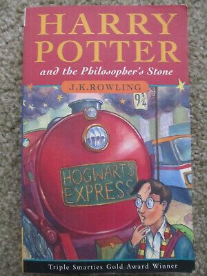 HARRY POTTER and the PHILOSOPHER'S STONE LARGE PRINT 1st Edition 15th PB