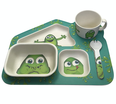 Little Mashies - 5 Piece Bamboo Meal Set