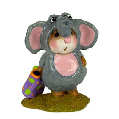 Wee Forest Folk ENORMOUS ELEPHANT, WFF# M-61a, Halloween Mouse Retired LTD 2019