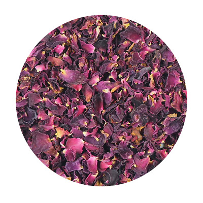 Red Rose Petals- Dried Edible Flowers - 25g