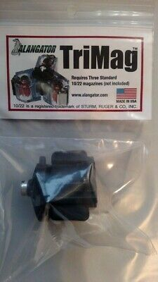 Alangator TriMag Magazine Connector for Ruger 10/22 22lr BX-1 Magazines - NEW