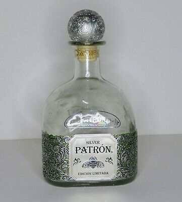 Patron Silver Empty Limited Edition Bottle
