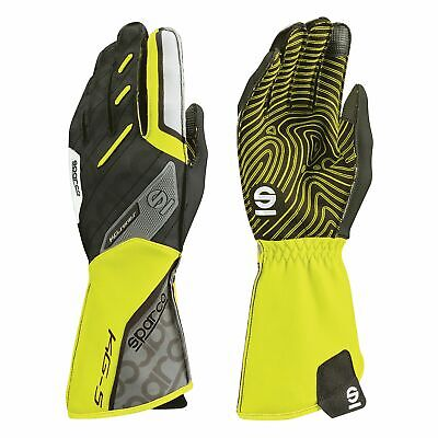 Whybee Sparco 002553 TRACK KG-3 KG3 Karting Gloves Kart in Sizes 4-13 /& 4 Colours!
