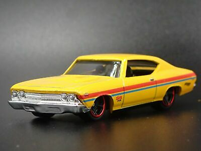 /' 70 CHEVROLET IMPALA ORO//White 1970 ** RR ** AUTO World VINTAGE MUSCLE 1:64 OVP