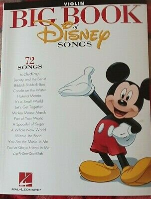 Big Book of Disney Songs Cello Sheet Music Book 72 Tunes Instrumental Folio
