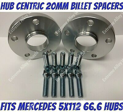 Alloy Wheel Spacers 20mm X 2 Mercedes E Class W211 W212 W213 A207 C207 Extreme