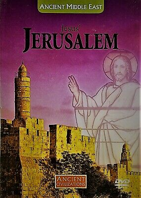 Ancient Civilizations MIDDLE EAST Jesus' JERUSALEM DVD + Book NEW History R0