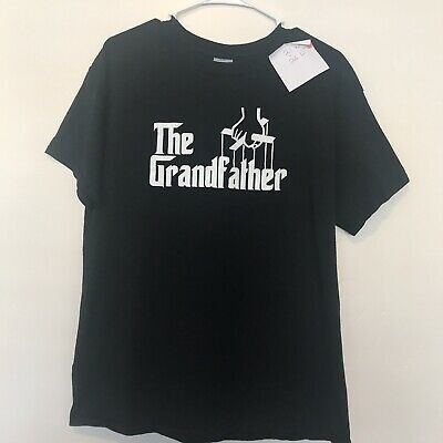 The Grandfather 'Godfather Style' Grandad Funny Father day Joke T Shirt