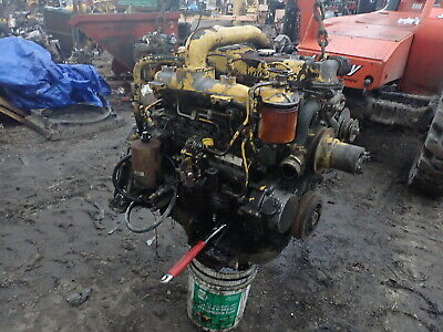 Isuzu 4BD1T Turbo Diesel Engine Excavator VIDEO! 4BD1 Hitachi EX120 Kobelco