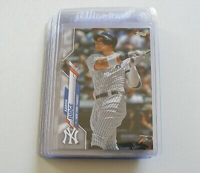 2020 Topps Series 1 New York Yankees (Base Team Set) 12 Cards Ultra Pro Sleeved