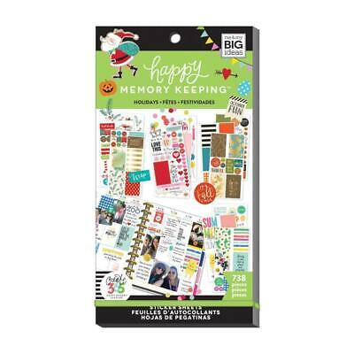 Me & My Big Ideas - Happy Planner Sticker Value Pack - Seasons & Holidays