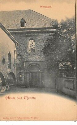 Religion - n°63816 - Judaica - Gruss aux Worms - Synagogue