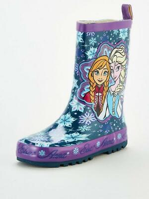 "Girls Disney Frozen Wellys ""Snaefell"" Elsa And Anna"