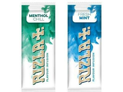 Rizla Flavour Infusions Fresh Cards Menthol MINT  Smoking  NEW IN 2020