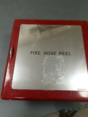 Fire Hose Reel with Wall Bracket. Used but in good condition. 5 in total.