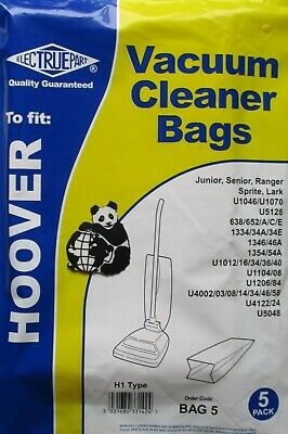 Hoover Junior Paper Dust Bags Bags X 10 (2 X Packets Of 5)