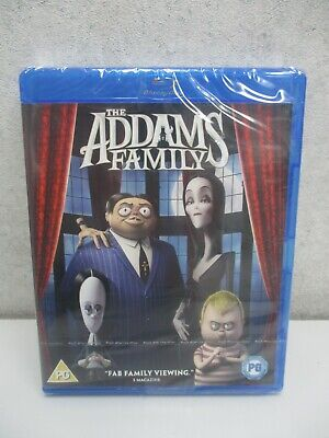 The Addams Family (2019)- Blu-Ray- New/Sealed