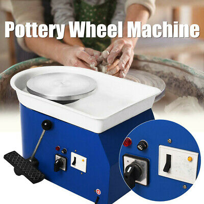 25CM 250W Electric Clay Pottery Wheel Machine Kits Ceramic Sculpting Turntable