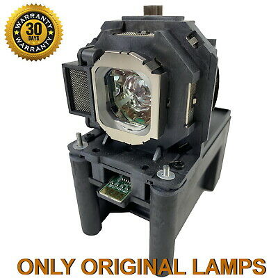 Projector Lamp Assembly with Genuine Original Ushio Bulb Inside. PT-LZ370U Panasonic Projector Lamp Replacement