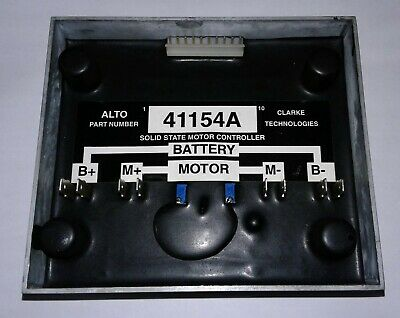 Clarke Industries MOTOR CONTROLLER P/N 41154A.  Control actuator mtr.encore
