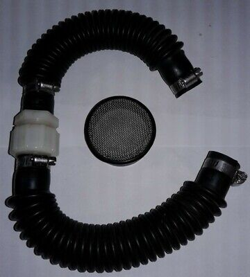 Clarke Encore Solution Hose Assembly & Vac Filter. P/N 30445A & 58069A