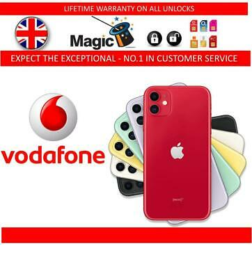 UNLOCKING SERVICE FOR IPhone 11 Pro Max 11 Pro XS Max XS XR UK VODAFONE (Fast)