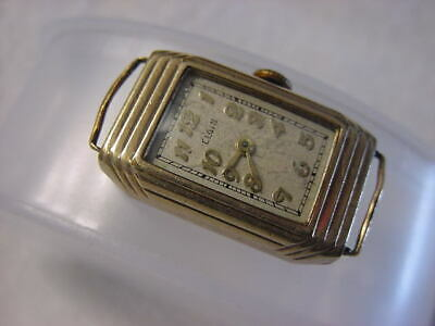Vintage GOLD FD antique pre 1920 Art Deco Lady ELGIN watch