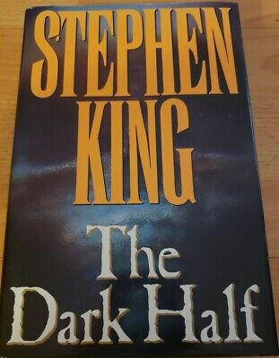 Stephen King The Dark Half First Edition1989 Hardcover XF Condition