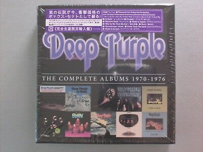 The Complete Albums 1970-1976 by Deep Purple(10 CDs,2013)** NEW SEALED **