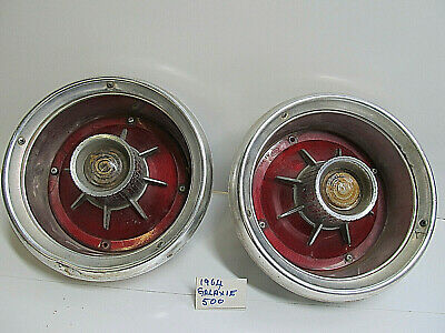 Two Galaxie Tail Lights  1964