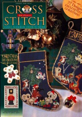 Jill Oxton's Cross stitch magazine - issue 39 - Christmas designs