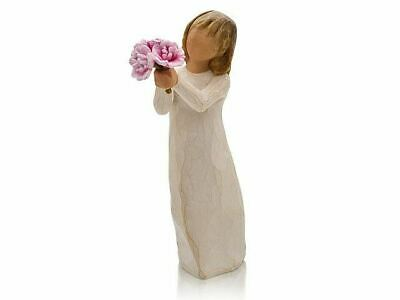 Willow Tree 27267 Thank You Flowers Figurine Figures Ornaments Collection Gift