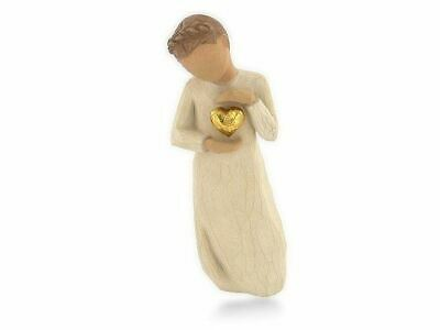 Willow Tree 26132 Keepsake Love Heart Figurine Figures Ornaments Collection Gift