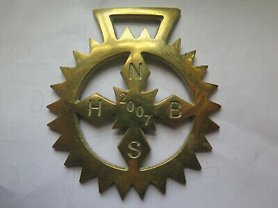 2007 N H B S National Horse Brass Society Annual Members Horse Brass Britain
