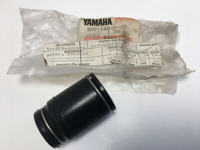 NOS Yamaha Exhaust Joint Boot YZ125 T 1987 Genuine OEM  Part # 3M7-14615-00