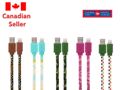 Colourful iPhone Lightning Charging Cable iPhone X XR MAX 3FT - Random Colours