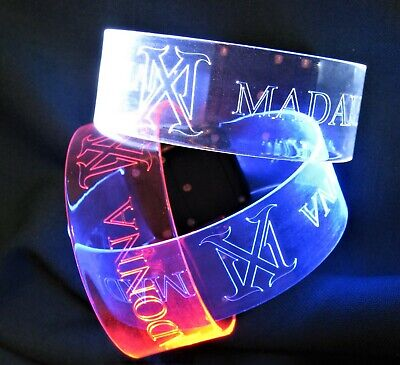 Madonna Madame X Tour Vip Style Bracelet Blue Red White Color Miami Vendors
