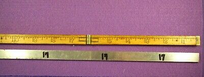 Precision Machinist Tools 1 Pc Unbranded Hardened Flat Bar Stock Tool Steel # 17