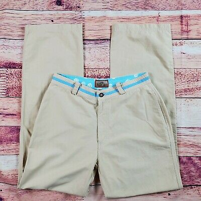 Horny Toad Pants Womens Size 4 Tan Beige High Rise Casual Pockets