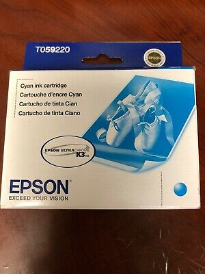 Sealed Epson Ink Cartridges for Stylus Photo R2400 - Cyan (Expired)