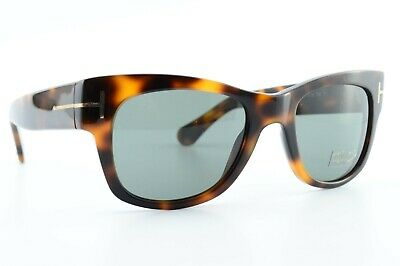 Tom Ford Cary TF 58 05K Black /& Tortoise Sunglasses Brown Gradient Size 52