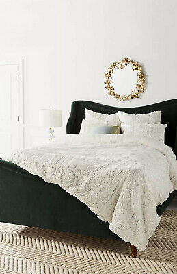 *New Anthropologie Luxe Floral Appliquéd Maison Quilt In King Size - Sold Out!