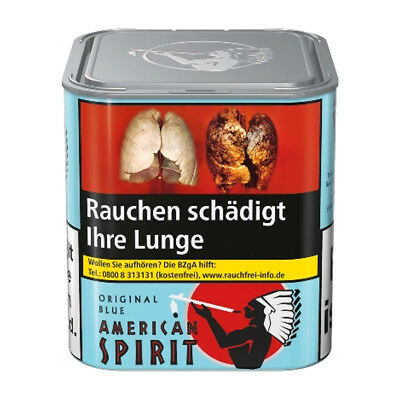 6 x 80g Natural American Spirit Original Blend Blau