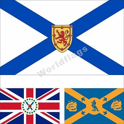 Canada Nova Scotia Flag 3X5FT Historical Lieutenant-Governor Halifax City Banner