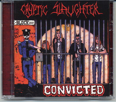"""Cryptic Slaughter """"Convicted"""" 1986, CD"""