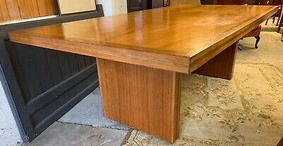 Fantastic X Large 1950's Art Deco Boardroom Table / Dining Table *Two Available*